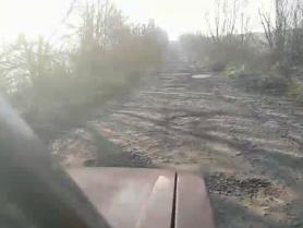 Дорога між селами Широке і Бужани
