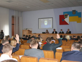 Засідання Луцької районної ради