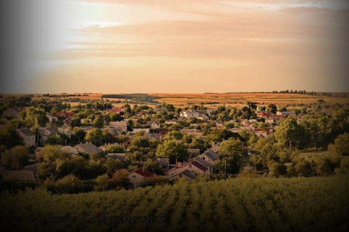 Друге фото: 2012-ий рік. Вид на місто Горохів.