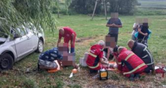 Втікали від бурі: у ДТП під Печихвостами постраждали три сім'ї