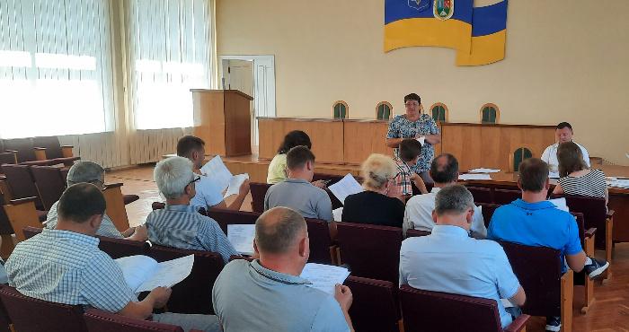 У Горохівській міськраді пройшло засідання виконкому: про що говорили