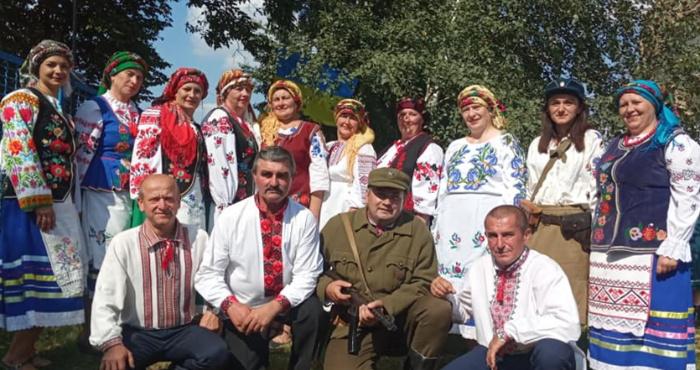 Колектив з Перемиля – на обласному фестивалі повстанської пісні