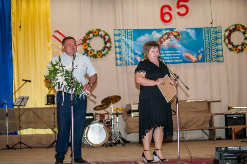 Учасників концерту привітали голова Горохівської РДА Любов Матвєєва та голова районної ради Тарас Щерблюк