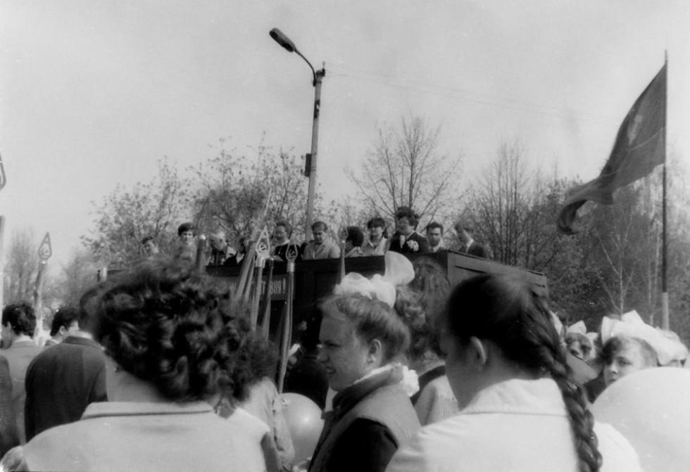 Першотравневий парад в Берестечку