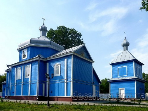 Свято-Михайлівський храм села Мирків
