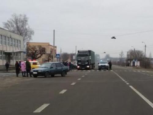 Житель Горохівщини збив дівчину під Луцьком