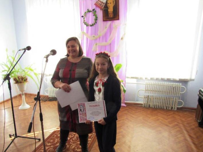 Хто переміг у конкурсі виконавців творів Лесі Українки у Горохові