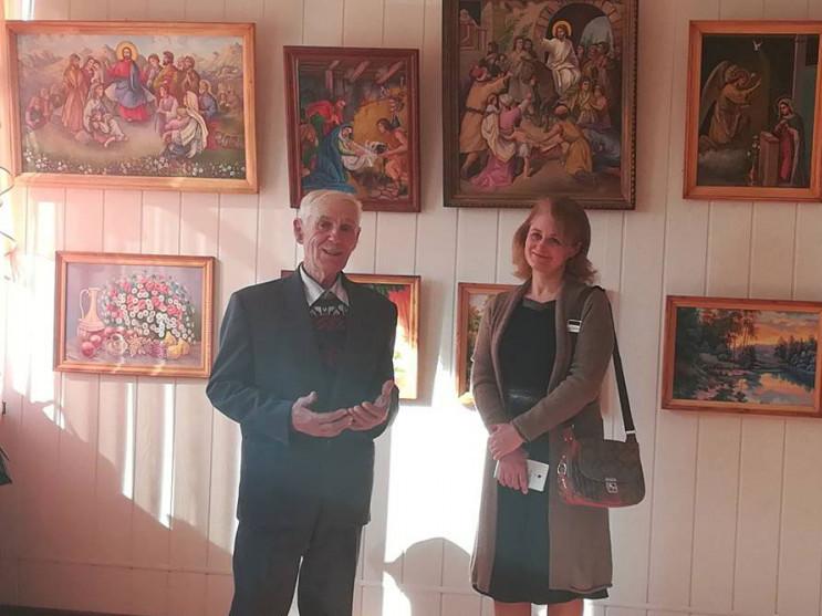 Виставку художника із села Борочиче відкрили у Горохові