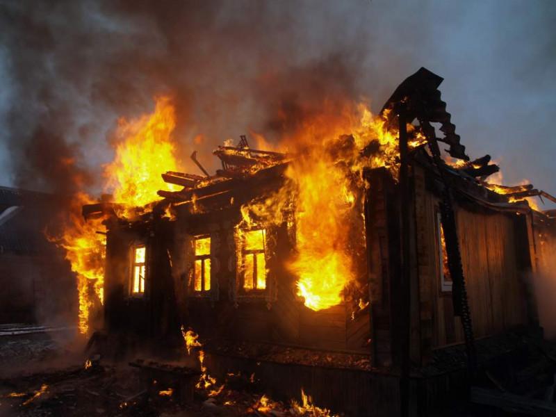 На Горохівщині у селі Новосілки горіла хата.