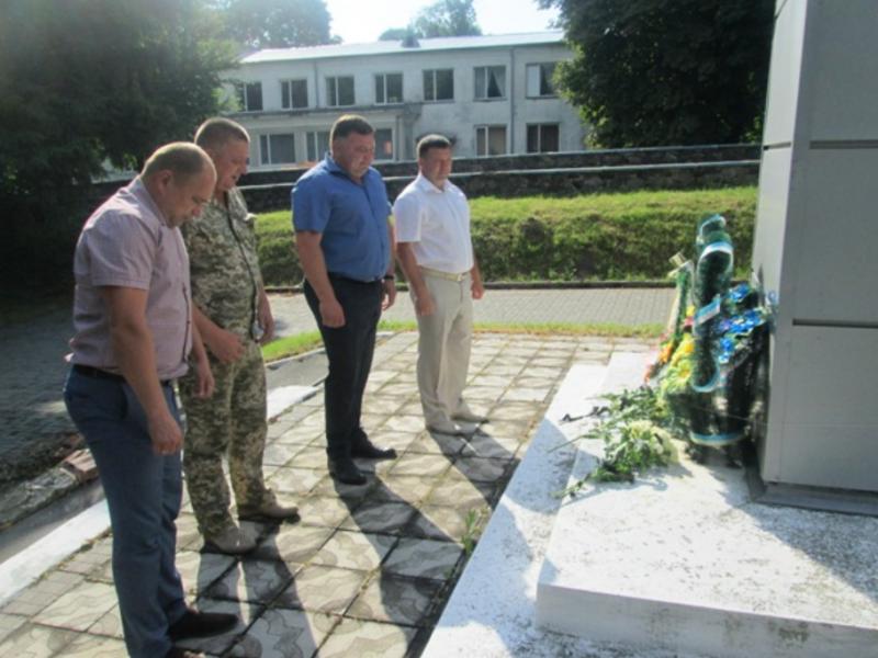 У Горохові вшанували пам'ять жертв війни в Україні