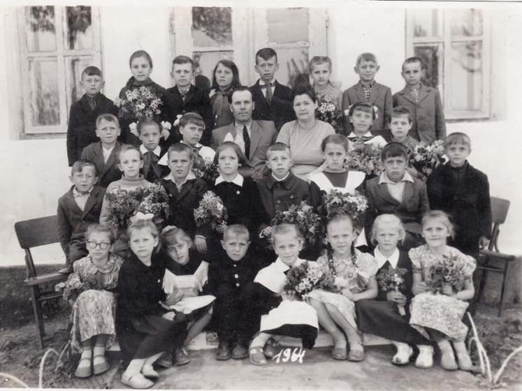 Ретросвітлини школярів з Горохівського району 50-60 років ХХ століття