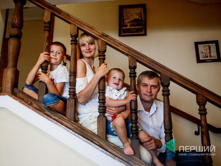 Сім'я Рубльових живе у квартирі на 145 квадратів.