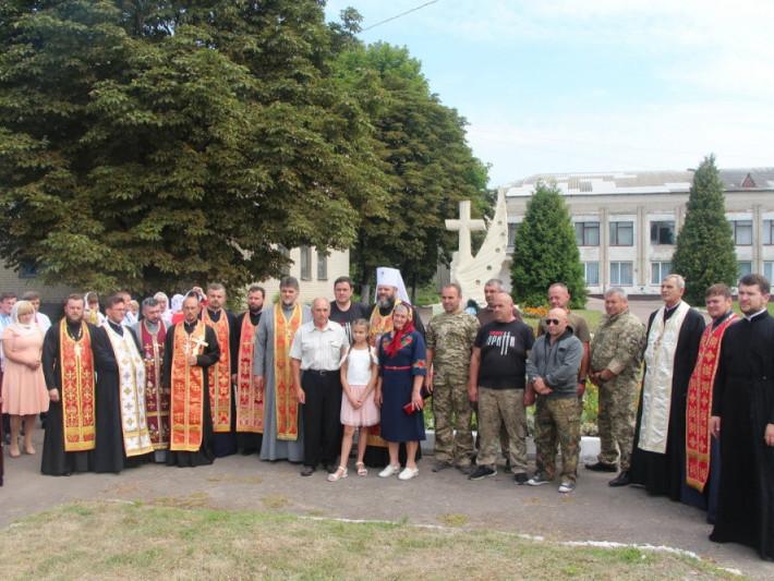 Шклинь: храмове свято очолив митрополит Михаїл
