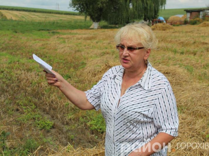 Голова Звиняченської сільради Тетяна Панасюк