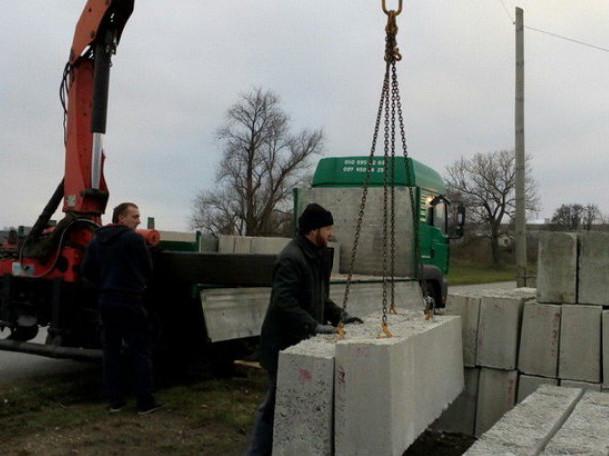 Фото із будівництва
