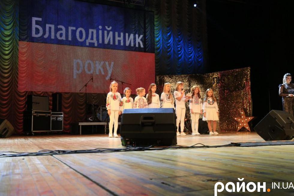 Благодійником року» стала голова благодійної організації Акція «Чорнобильська допомога» Ріта Ліммрот