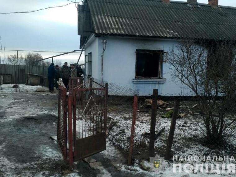 У Горохівськомурайоні18-річний юнак вбив пенсіонерку і намагався спалити її тіло