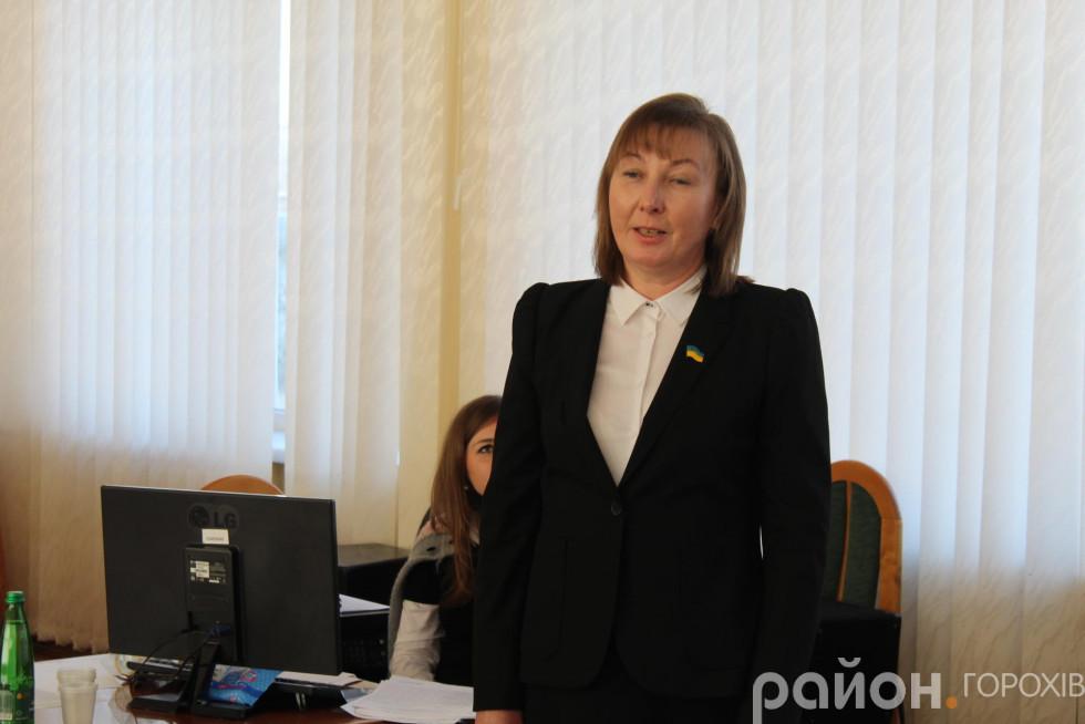 новообраний секретар Наталія Ковальчук