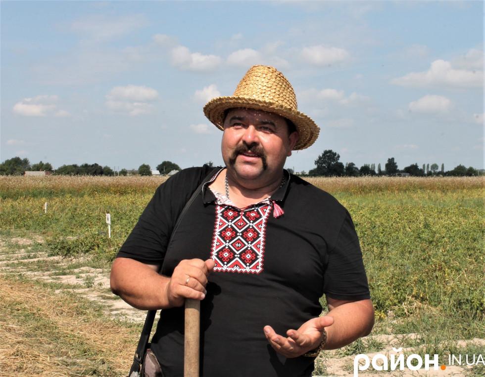 Керівник фермерського господарства «Шегедин» Володимир Шегедин.