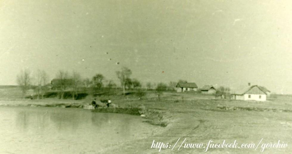 Село Старостав Горохівського району (Мелники). Фото з приватної колекції Івана Хвищуна