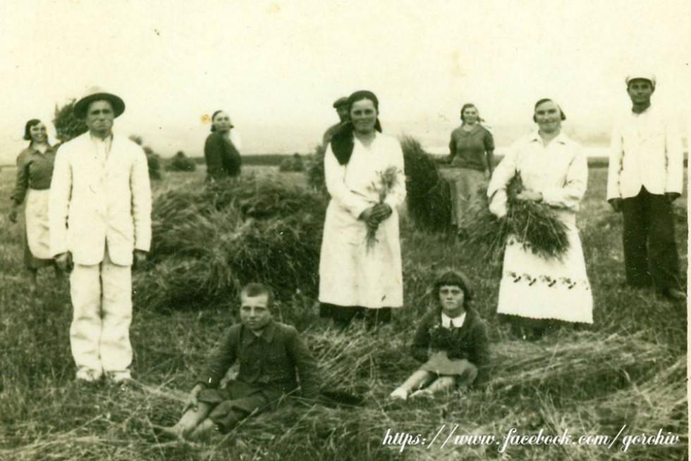 Село Старостав Горохівського району (Хведось). Фото з приватної колекції Івана Хвищуна