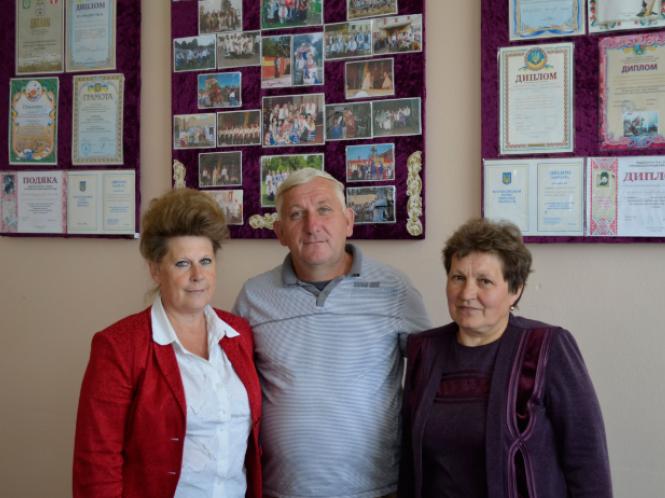 Надія Маселко, Микола Шишко та Віра Денисюк