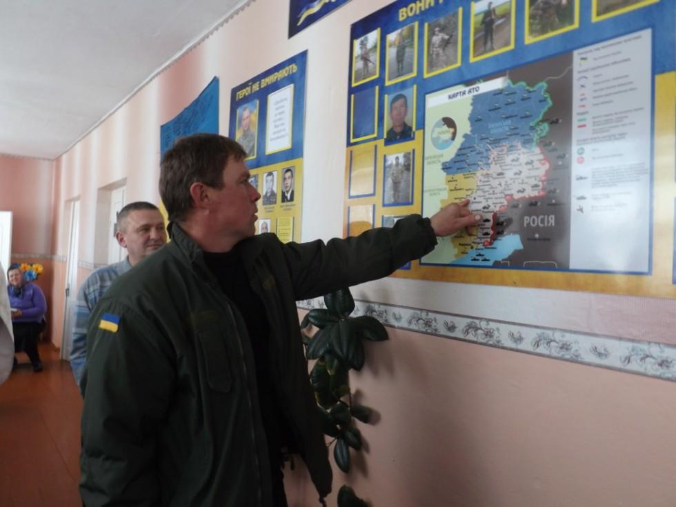 Володимир Одолінський розповідає про фронтові дороги