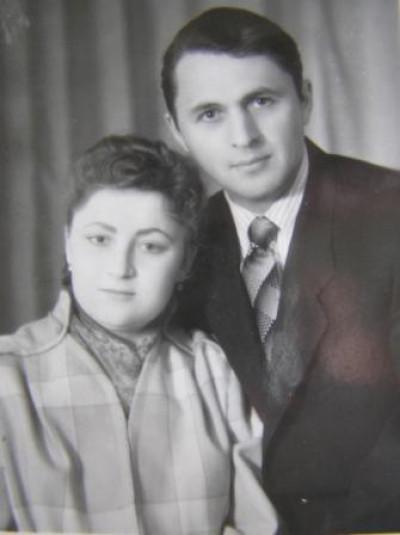 Олексій Брись з дружиною
