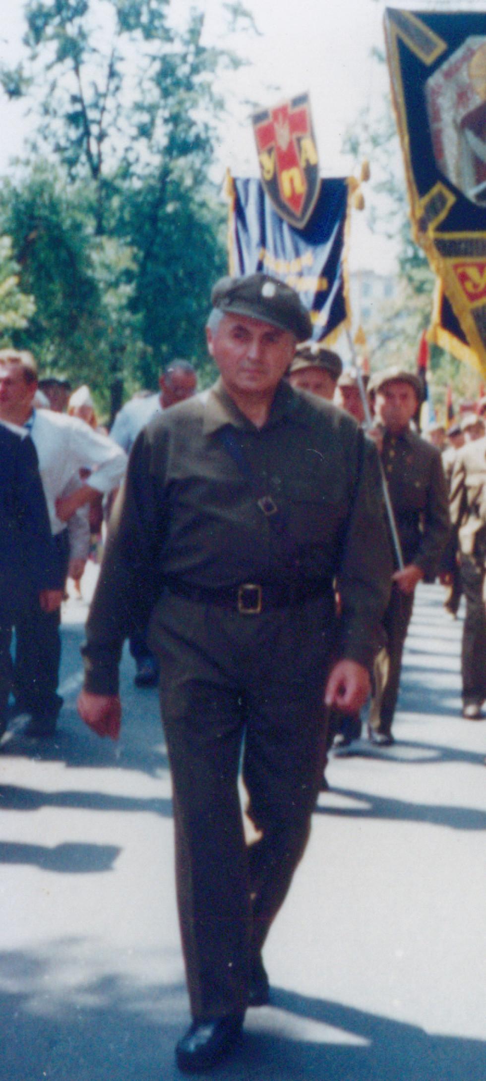 Олексій Брись, похід на Аскольдову могилу Святкування 50-річчя УПА, серпень 1992 року