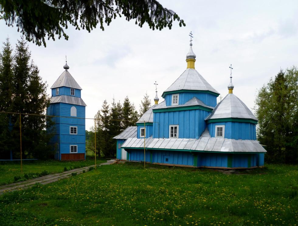 Миколаївська церква 1757, в селі Борочиче Горохівського району