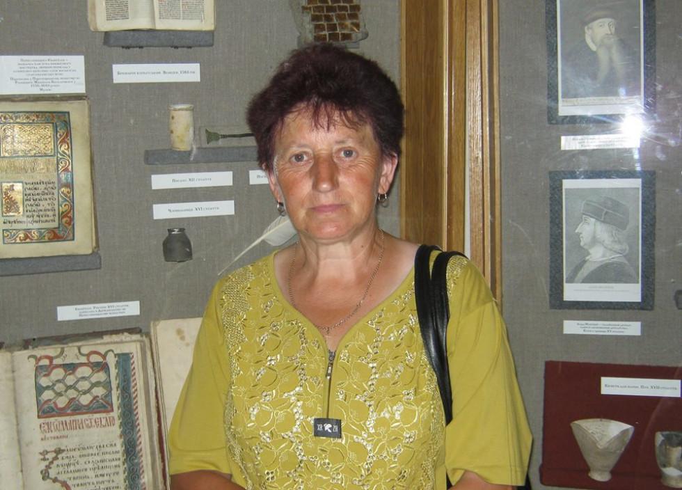Місцевий історик Тамара Середа