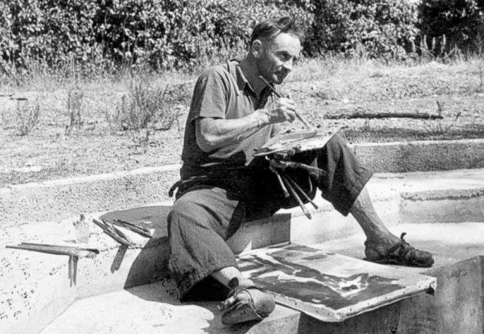 Вацлав Завадовський в маєтку Орсель. 1933