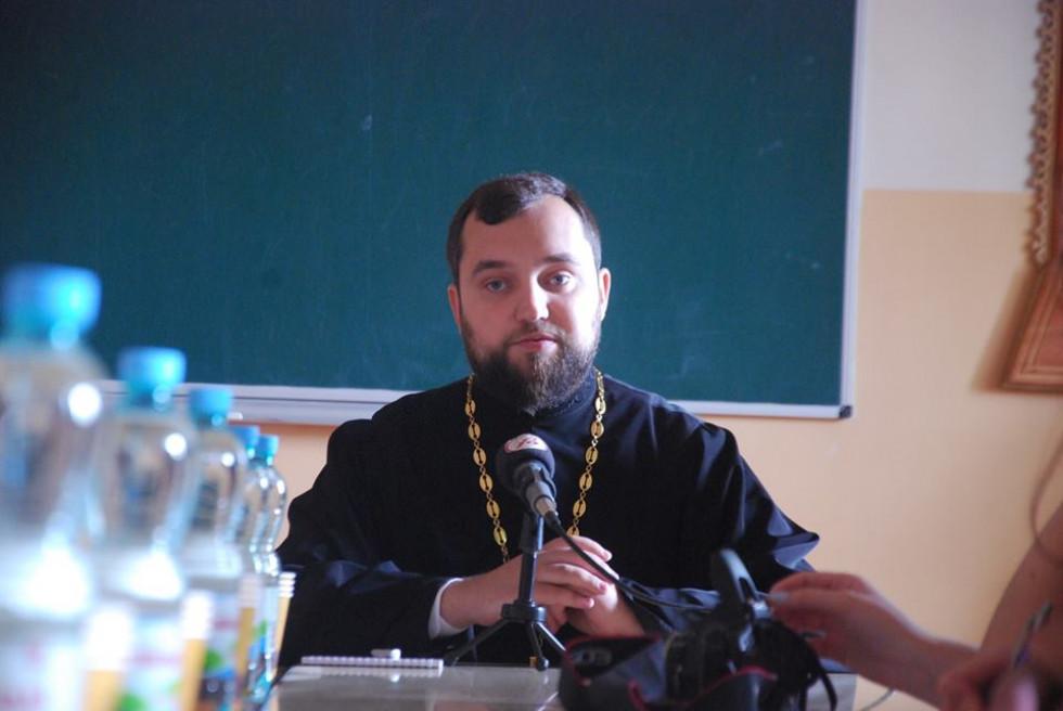 Голова прес-служби Волинської єпархії протоієрей Олег Точинський
