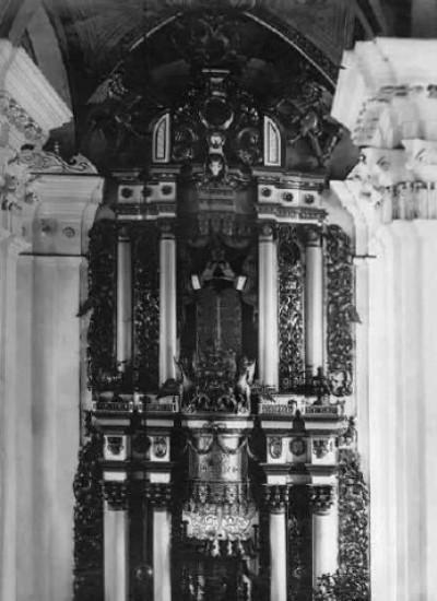 Берестечко. Інтер'єр синагоги. 1912 р.