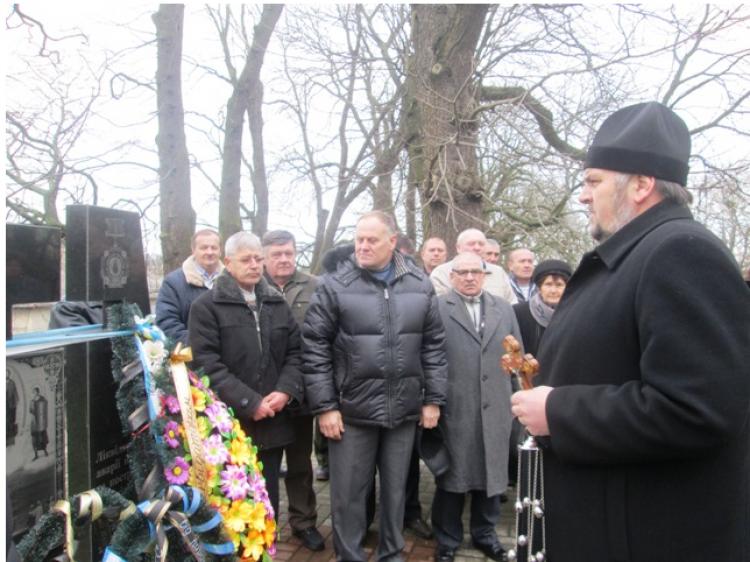Панахида біля пам'ятного знаку «Жертвам Чорнобиля»