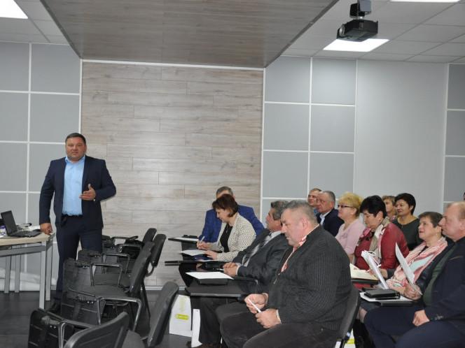 Делегацію від Горохівщини очолив голова Горохівської районної ради Тарас Щерблюк.