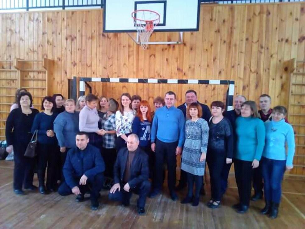Спільне фото нАрдепа з колективом