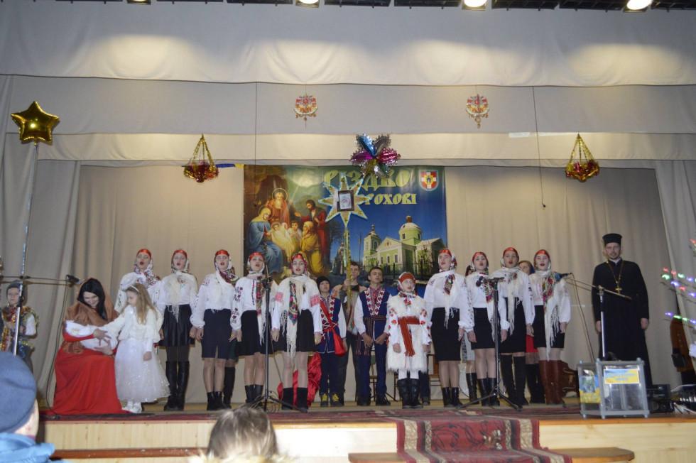 Вихованці недільної школи храму села Старостава