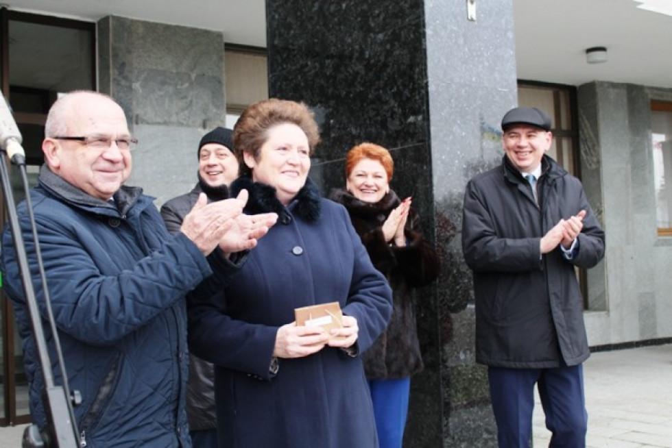 Людмила Косюк отримує ключі