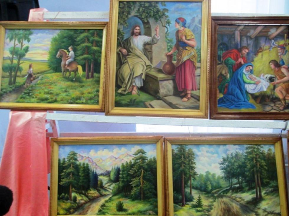 Картини та ікони