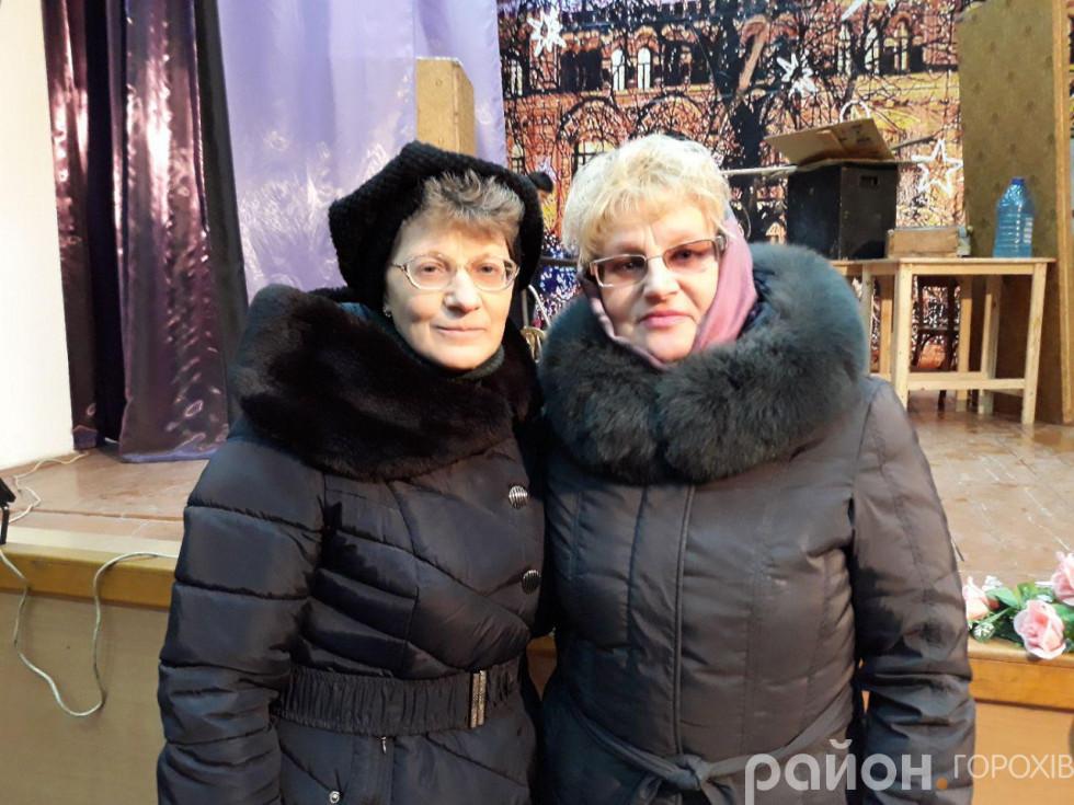 Оксана Камоцька і Тетяна Панасюк