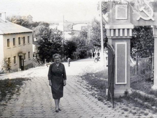 Старе фото Горохівської вулиці