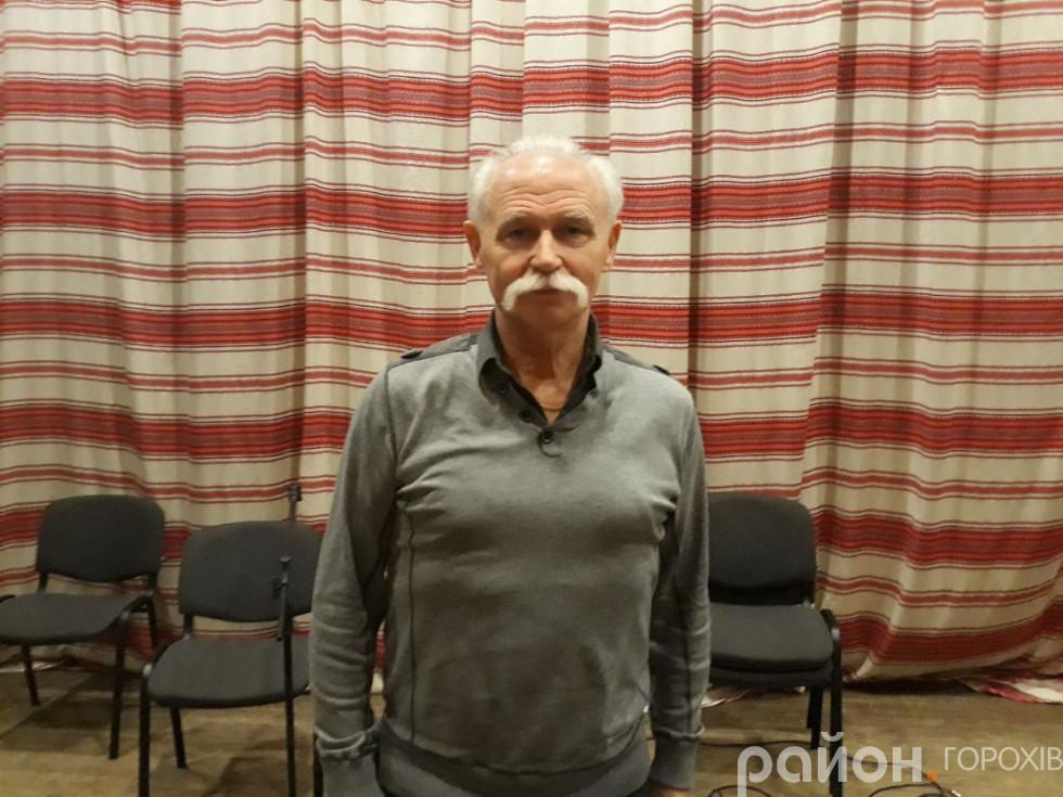 Заслужений діяч мистецтв України Ігор Курилів