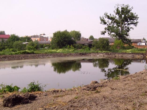 В мережі опублікували фото тільки викопаного горохівського озера