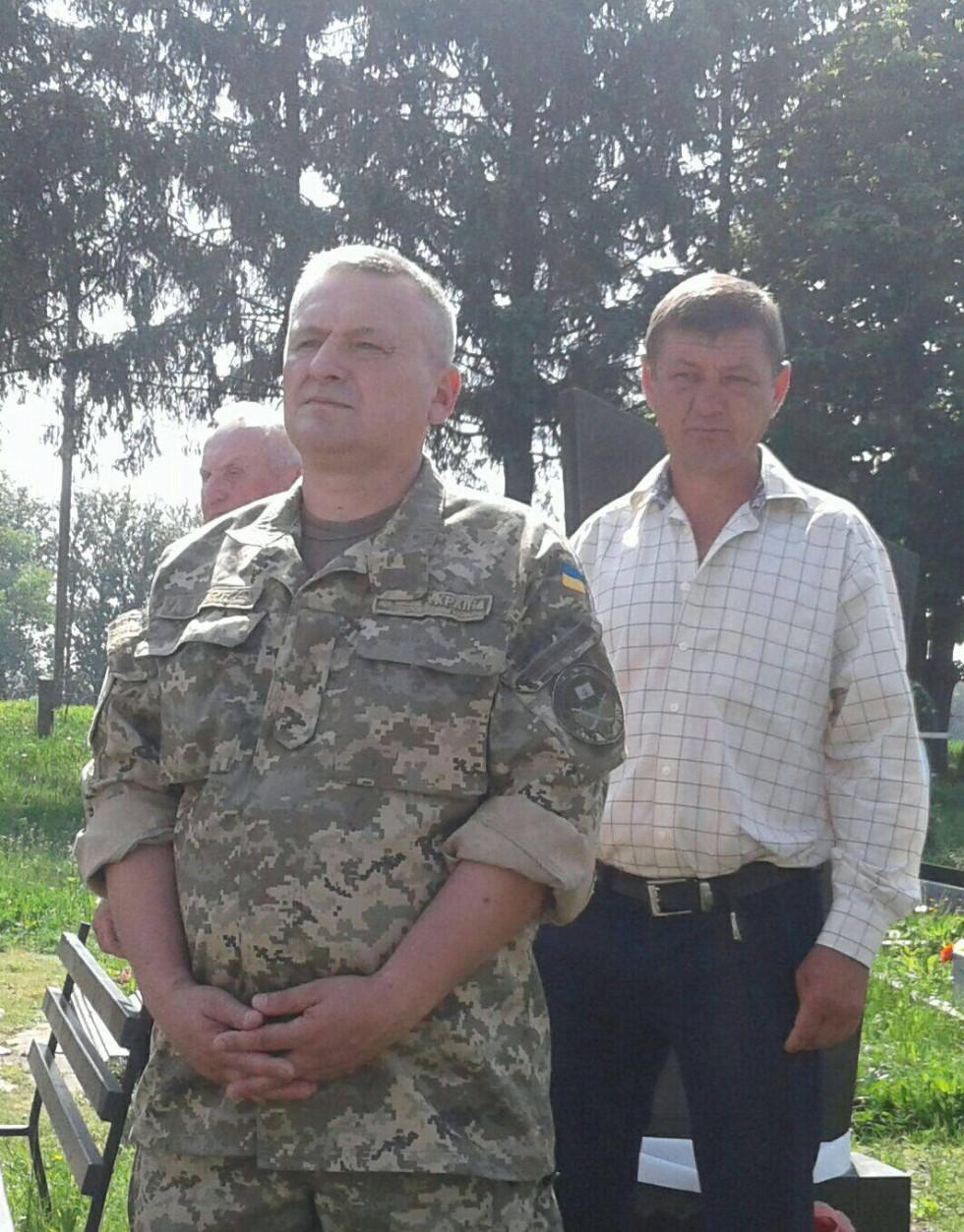 Учасники АТО Олег Дмитрук та Юрій Сенюта