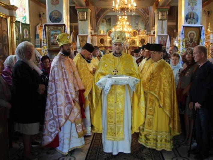 Митрополит Луцький і Волинський Михаїлтрадиційно у день Воснесіння Господнього з нагоди престольного свята відвідав храм у Горохові