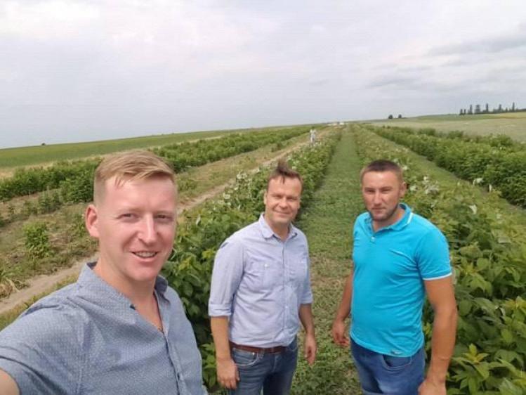 Сергій Петровський, пан Пекка Коевісто та Роман Юхимчук