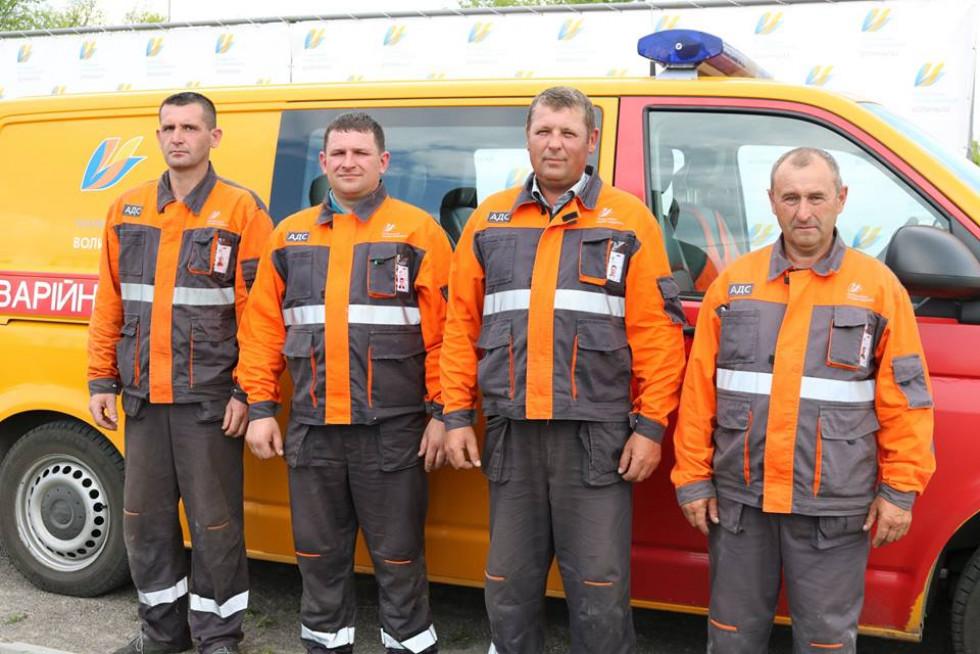 Третє місце в обласному конкурсі-огляді аварійно-диспетчерських служб посіла бригада АДС Камінь-Каширської дільниці Ратнівського відділення