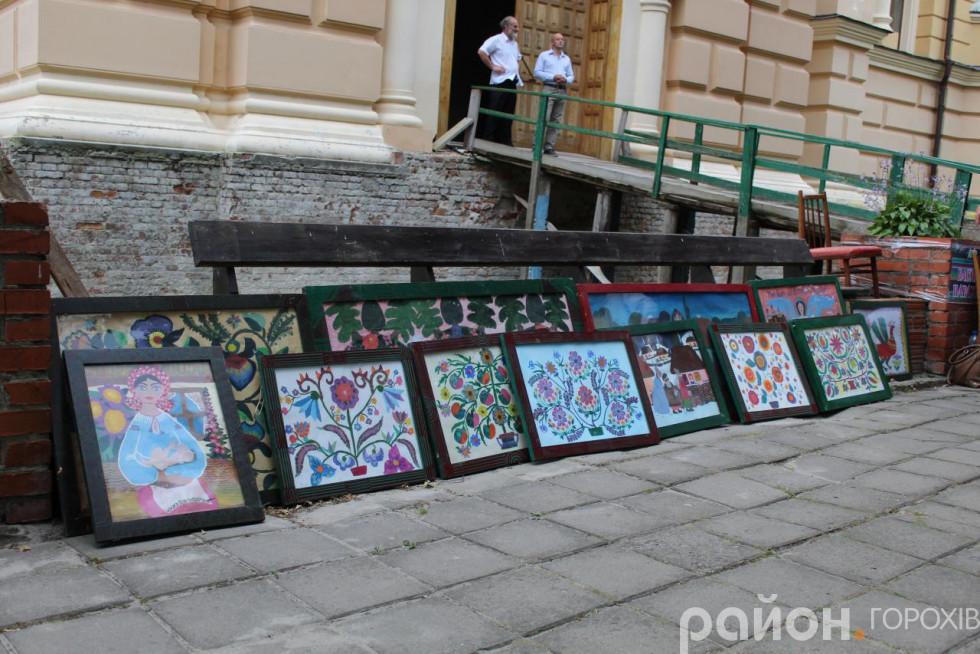 Виставка робіт Василя Парахіна - окраса фестивалю