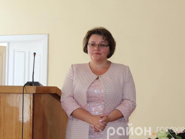 Юлія Гринчук називає Горохівщиною рідною